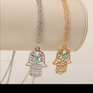Jewelry - Hamsa hand necklace